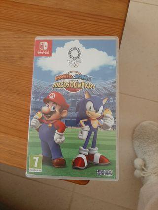 juego Nintendo Switch Mario & Sonic juegos olimpic