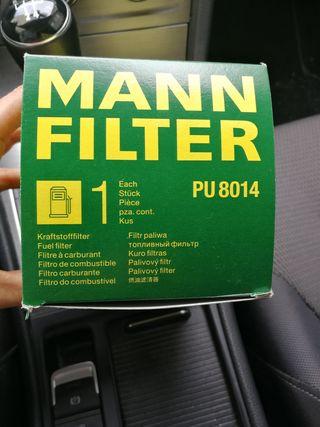 filtro gasoil MANN pu 8014