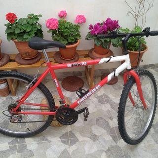 bicicleta talla M 26