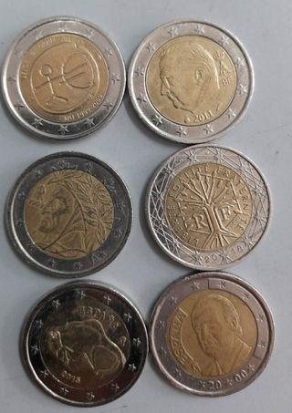 monedas 2 euros