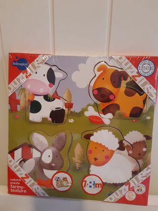 Puzzle Animales Granja