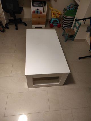 Mesa auxiliar maciza