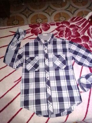 camisa zara hombre talla m