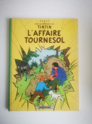 TINTIN - L'AFFAIRE TOURNESOL - HERGE