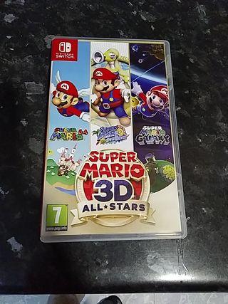 videojuego supermario 3D all*stars Nintendo switch