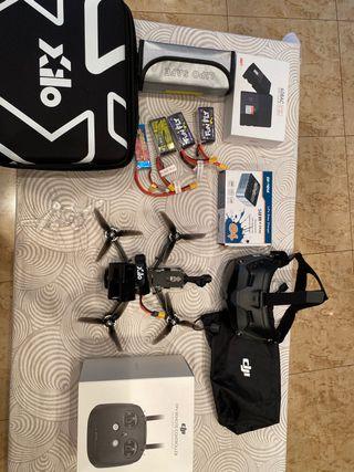Drone FPV Sistema digital dji