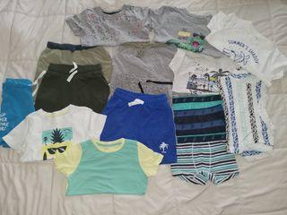 Lote de ropa verano, niño talla 3-4 años