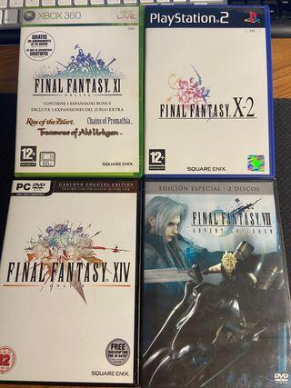 Juegos y película Final Fantasy