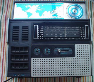 Radio antigua multibanda año 1970