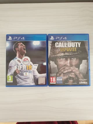 CALL OF DUTY WWII + FIFA 18