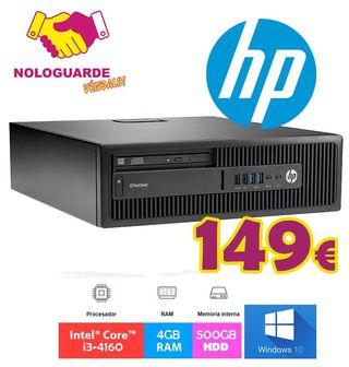 TORRE PC HP INTEL I3 + 500GB HDD + 4GB RAM