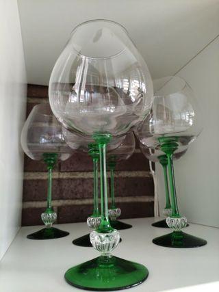 copas de cristal