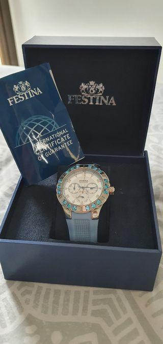 reloj Festina mujer. usado dos veces.