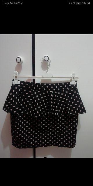 falda con lunaritos