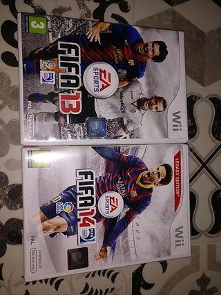 Juegos Wii FIFA 13-FIFA 14