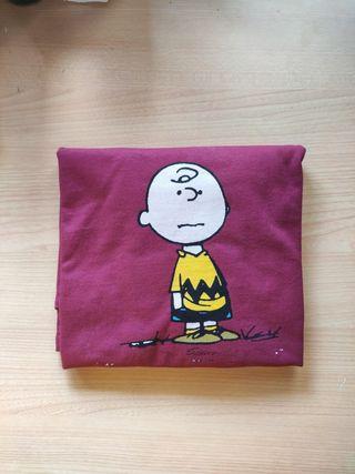 Camiseta Carlitos (granate)