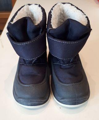 Botas de nieve para niño o niña 24-25