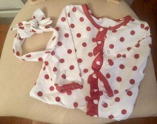 Pijama niña talla 18-24 meses 100 cms