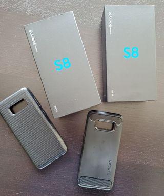 Dos Samsung S8