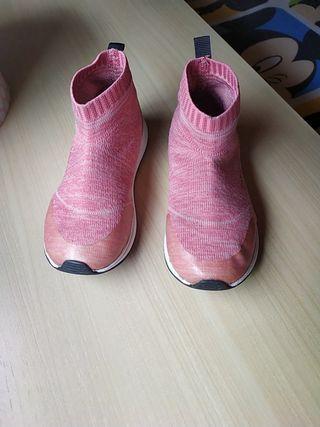 Botitas calcetín niña Zara
