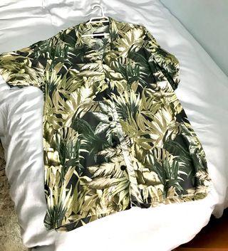 Camisa playera hombre pull&bear