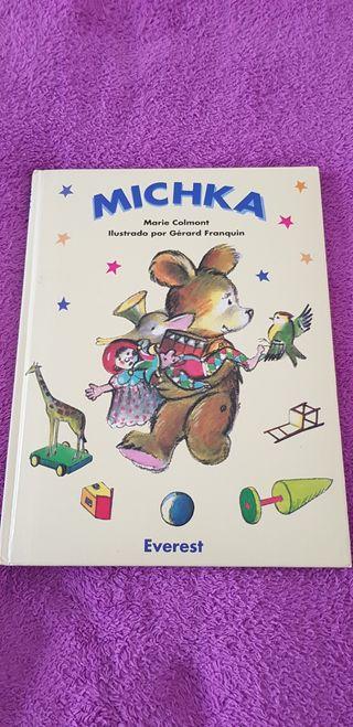 Libro infantil Michka de Marie Colomont