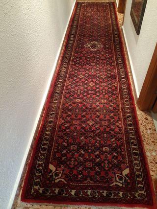 alfombra persa pasillero. 3m95cx83