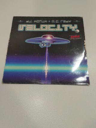 Dj Konik + MC Ready Velocity Vinilo 1996