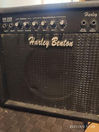 Amplificador Bajo Harley Benton