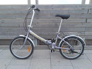 Bicicleta plegable BOOMERANG, cuadro de Aluminio