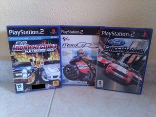 Pack 3 Videojuegos PS2