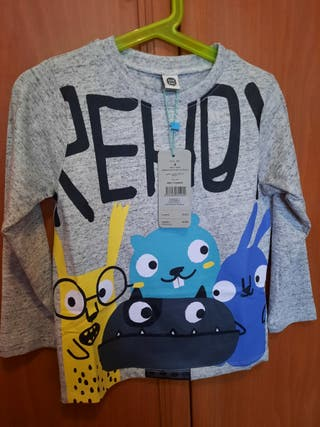 Camiseta niño Talla 4 años Tuc Tuc (Nuevo)