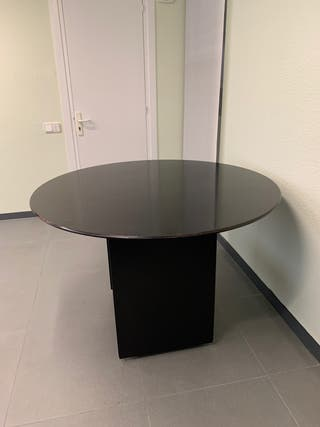 Mesa despacho redonda