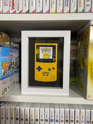 Cuadro Gameboy Color Pikachu