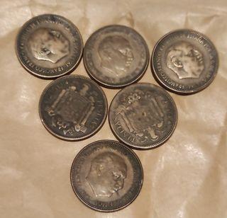 2 pesetas y media Franco 1953