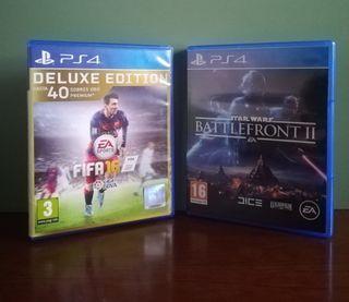 Pack de FIFA 16 y BATTLEFRONT 2