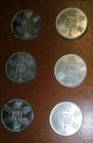Monedas de Mundial 82