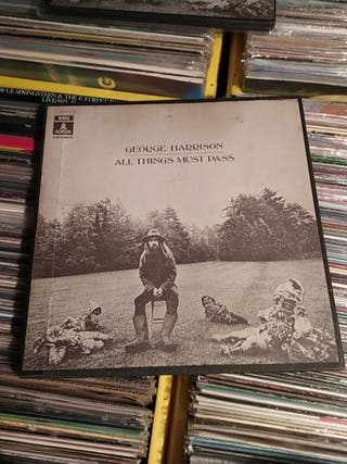George Harrison All Things Must Pass 3LP Vinilo