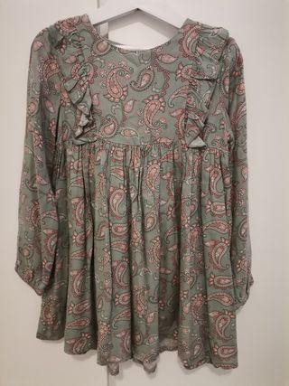 vestido talla 4/5 años