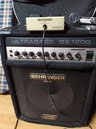 Amplificador Bajo BHERIMGER ULTRABASS BX1200
