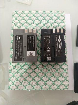 pack de 2 baterías Nikon EN-EL3e Clónicas