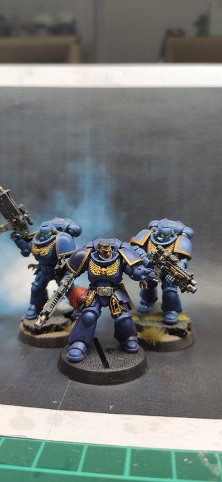 Warhammer Conquest Ultramarines pack