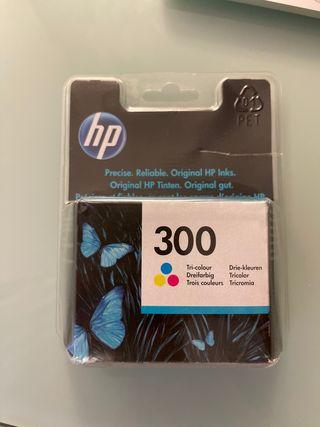 Cartucho tinta color HP300 original