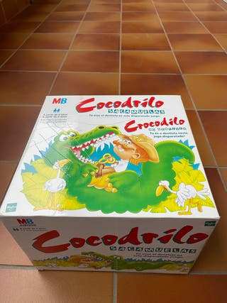 Juego Cocodrilo Sacamuelas de MB.