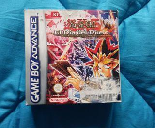 Yu-gi-oh el día del duelo.Game Boy Advance.