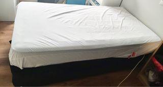Canapé y colchon 105 cm