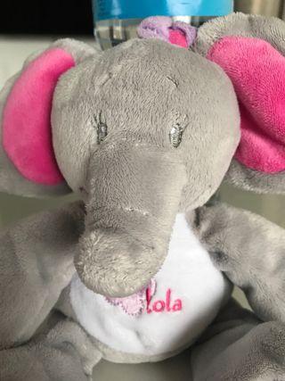 Peluche elefante (Lola)