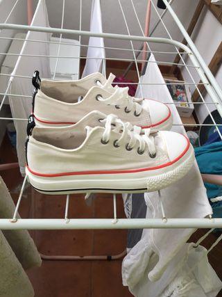Zapatillas blancas mustang