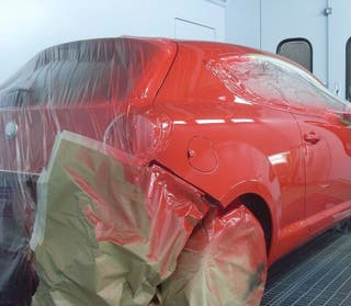 Chapa u pintura de coches