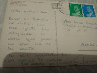 se vende un lote de postales mucho bastante antigu